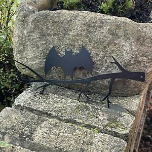 Halloween Hanging Bat - Metal Wall Art