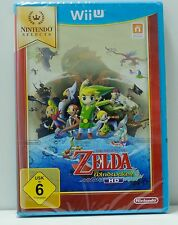 Nintendo Wii U Game Select: Zelda The Windwaker HD NEW & Boxed de PAL Version