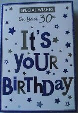 30th BIRTHDAY CARD - ON YOUR 30th (323)