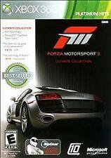 Forza 3 - Ultimate Platinum Hits -Xbox 360 Xbox 360, Xbox 360 Video Games-Good C