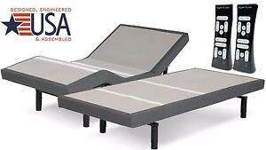 SPLIT CALIFORNIA KING S-CAPE 2.0 MODEL ADJUSTABLE BED BY LEGGETT & PLATT