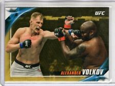 2019 Topps UFC Knockout ALEXANDER VOLKOV #86 Gold Parallel 1/1 Rare One-of-One