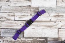 Brustgurt für Schulranzen, 25 mm Rucksack, neu. violett