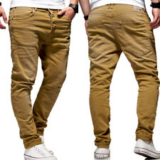JACK & JONES Jeans Hose LUKE Anti-Fit Chinohose Beige Tim Chino Cargo NEU