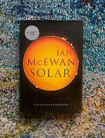Solar Ian McEwan Signed HC 1st Edition Book