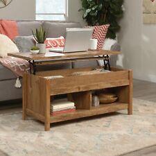 Sauder Living Room Lift Top Storage Coffee Table Sindoori Mango Finish