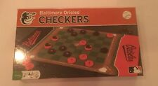 Baltimore Orioles Team Checkers MLB Family Game NEW