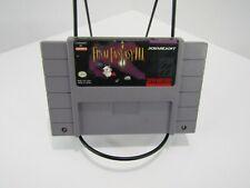Final Fantasy Iii (Nintendo Snes, 1994) Cartridge Only Original