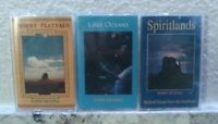 John Huling 3 Cassette Tape Lot RARE OOP Native American Pan Flut World Music