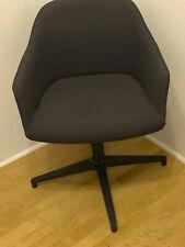 VITRA Softshell Chair Viersternfuß Schwarz