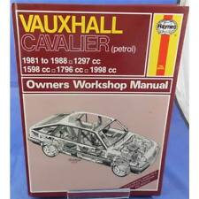 Vauxhall Cavalier 1981 to Oct 1988  Haynes Workshop Manual