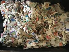1200 OFF PAPER COLLECTION / MIXTURE STAMPS MANY DIFFERENT Un picked