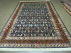 6' X 9' Vintage Fine Hand Made India Paisley Rug Hand Knotted Carpet Organic Dye