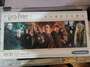 Harry Potter 1000 piece panorama jigsaw puzzle Clementoni.