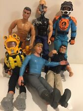 Vintage Lot Of 4XAction Men And Frozen Kristoff And Mystery Terminator Alien Guy