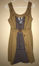Hot Topic Her Universe Exclusive BBC Dr. Who David Tennant Cosplay Dress S Small