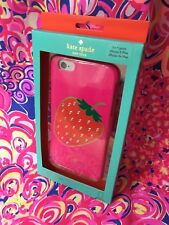 🍓NEW KATE SPADE IPHONE 6+ HARDSHELL HYBRID CASE BedaZZled w SparklY CrystalS 🍓