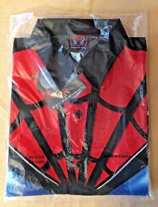 Vtg. Spiderman First Movie 2002 Changes Collared Dress Shirt Mens XL NEW NWT