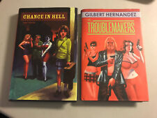 CHANCE IN HELL & THE TROUBLEMAKERS by GILBERT HERNANDEZ love and rockets new!