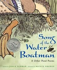 New listing Song of the Water Boatman and Other Pond Poems (Caldecott Honor Book, Bccb Blue