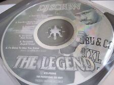"DJ SCREW ""The Legend""  Houston Texas NEW"
