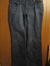 Women's Harley Davidson size 12 Denim distressed Size 34 X 31
