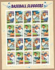 {BJ stamps}  4080-83  Baseball Sluggers.  MNH  39¢ sheet of 20.   Issued in 2006