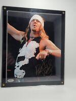 Bret Michaels SIGNED Poison 8x10 PHOTO Autographed  COA