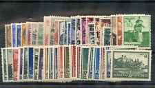 ELSASS TO KURLAND 1939-1945 91 DIFFERENT*F-VF OG/HR/LH/NH (INCL ESTLAND 5U) $227