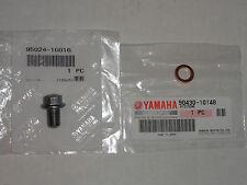 Case Oil Drain Plug OEM Yamaha YFZ450 YFZ 450 YZ450F WR450F YZ450 YZ WR 450F F