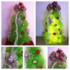 Deco Mesh Christmas Tree