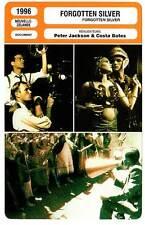 FICHE CINEMA : FORGOTTEN SILVER - Peter Jackson,Costa Botes 1996