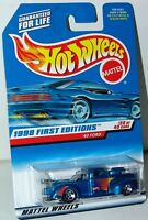 Hot Wheels 1998 First Editions 20/40 40 Ford Truck #654 Malaysia 5 Spokes