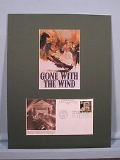 Clark Gable & Vivien Leigh in Gone With the Wind & First Day Cover for the Book