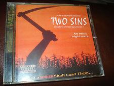 CD TWO 2 SINS UNDERGROUND BOOTLEG 1  AN ADULT NIGHTMARE NR MINT! RARE!! RAP  ICP