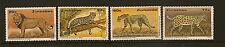 ZIMBABWE :1992 Wildlife Conservation-Big Cats set  SG822-5  unmounted mint