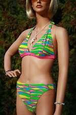 2018/19 Saison 360025 Marken Neckholder Triangel Bikini Retro Design in 36