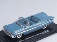 1/43 Scale model Chevrolet Impala Open Convertible (Crown Sapphire)