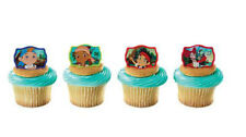 Jake and Neverland Pirates cupcake rings (24) party favor cake topper 2 dozen