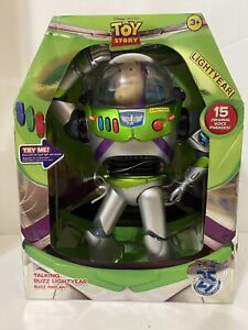 DISNEY PIXAR TOY STORY 25TH ANNIVERSARY BUZZ LIGHTYEAR DELUXE ACTION FIGURE!
