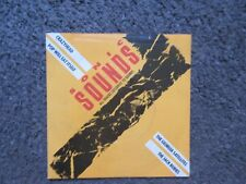 """V/A """"SONIC SOUNDS 1"""" UK 1987 4TRX. W/PS OOP 7"""" EP NM/VG+ EXCLUSIVE TRACKS!"""