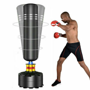 """5.7FT Free Standing Punch Bag Boxing Indoor Martial Art Training Kick Filled 69"""""""