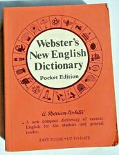 1980 Webster's New English Dictonary Pocket Edition Merriam -Webster 608 pages