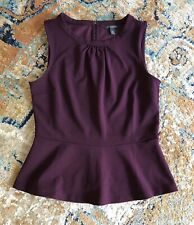 Women Banana Republic Plum Tank Top Business Casual Dress Shirt Size XS New Tag!