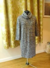 BNWOT size 12 Principles by Ben de Lisi  blue 3/4 sleeve roll neck knit dress