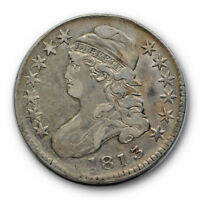1813 50C Capped Bust Half Dollar Very Fine to Extra Fine Original #RP91