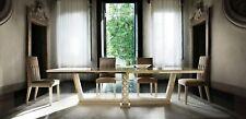 Esszimmer + 6 Stühle + Kommode Spiegel 2x Vitrine Esstisch 11tlg. Set Garnitur