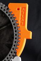 "Atlas Craftsman 10/12"" Spindle Lock Wedge Block Used To Remove Tight Chucks"