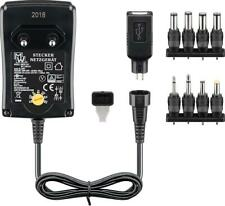 Goobay 3 V - 12 V Universal-Netzteil inkl. 1 USB und 8 DC-Adapter max. 18 W 1,5