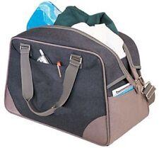 Metro Casual Travel Bag, Full dual matte silver zippere